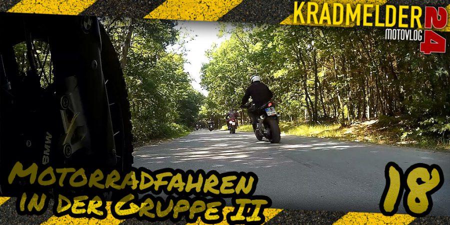 Motorradfahren in der Gruppe (Teil II)