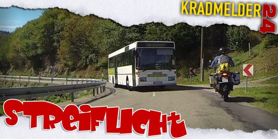 Ich glaub', mich streift ein Bus