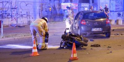 """KawaQues """"Bae 2"""" liegt zerstört am Boden. (Foto: Berliner Zeitung/Pudwell)"""
