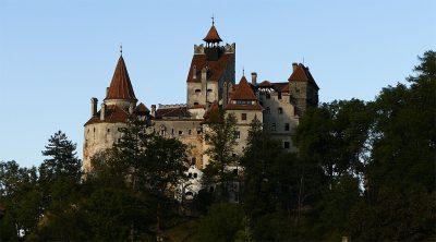 Angebliches Draculaschloss in Bran. Wer's glaubt.