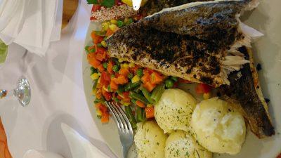 Kein Fleisch, sondern Fisch: Wolles irrtümliche Bestellung.