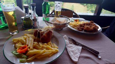 Verhungern muss man jedenfalls nicht in Rumänien!