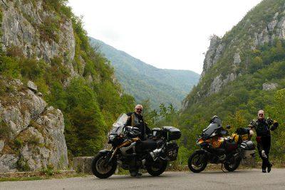 Kurz vor der DN66A ins wilde Cernatal.