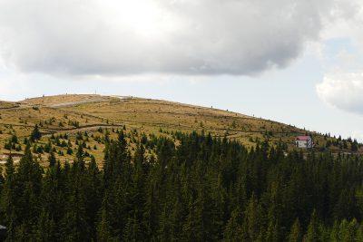 Hügel bei Ranca, kurz vorm Urdele.