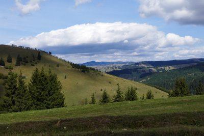 Aussicht vom Fagetzel-Pass.