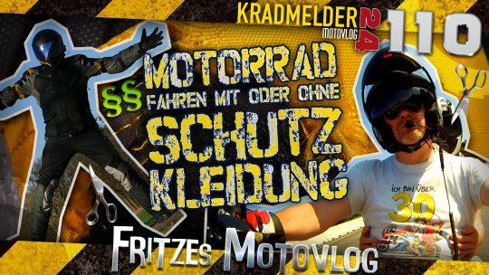 👕 Motorradfahren ohne Schutzkleidung