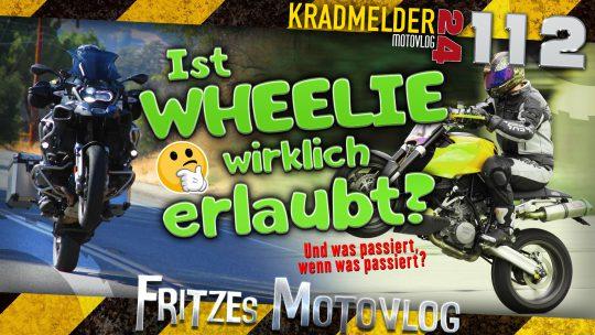 🎪 Ist Wheelie erlaubt?