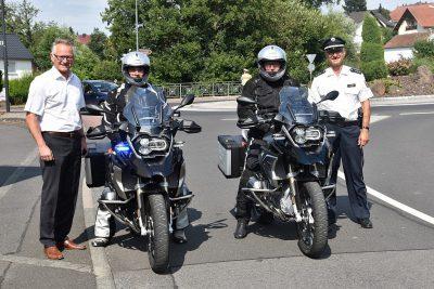 Neue BMW R 1200 GS für die Polizei Hessen (Bild: Luisa Diegel)