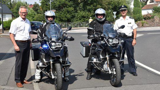 🏍️ Polizei auf GS