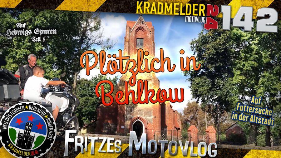 🏡 Plötzlich in Behlkow