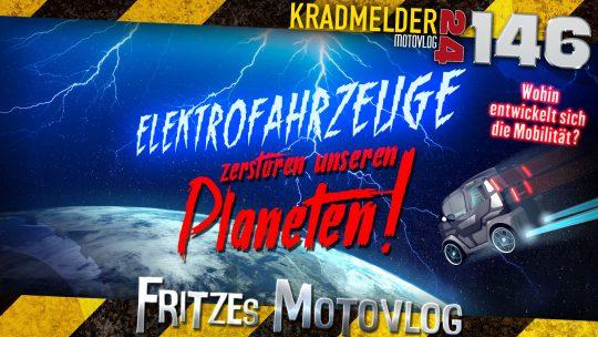 🔌 Elektrofahrzeuge zerstören unseren Planeten!