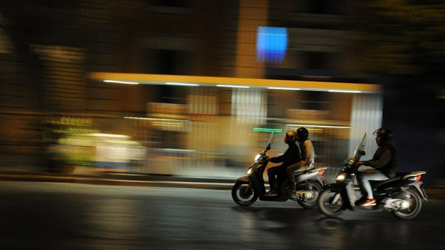 ? Moped Thieves of London