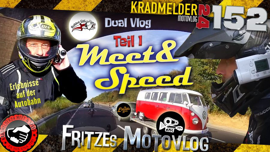 🤝 Meet & Speed: Bulldog Gaz, Andy Man Cam und The Likeable Rider