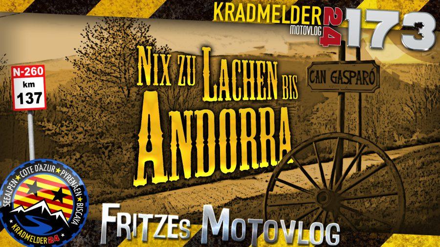 😔 Nix zu Lachen bis Andorra