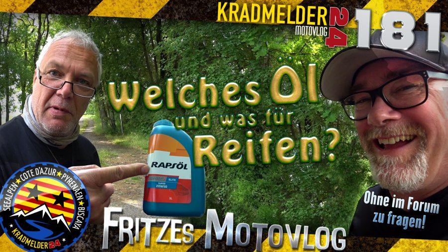 🛢️ Welches Öl und was für Reifen?
