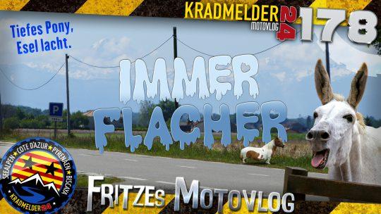 🐴 Immer flacher