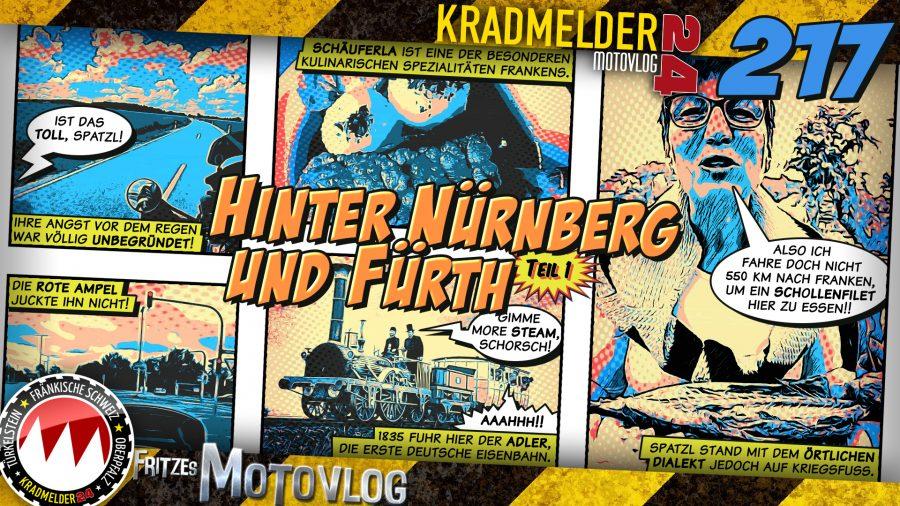 🚂 Hinter Nürnberg und Fürth (1/2)